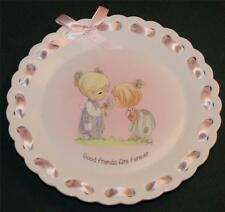 Enesco/Precious Moments Lt Ed Plate: Good Friends Are Forever