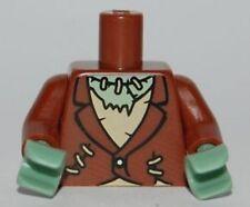 LEGO - Minifig, Torso Torn Jacket, Tattered Shirt, Stitches Frankenstein Monster