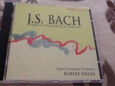 J.S. Bach Orchestral Transcriptions by Stokowski Chandos Sydney Symphony Pikler