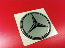 2 Adhesives Resin Sticker 3D Mercedes 40 MM