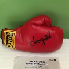 LEON SPINKS SIGNED AUTOGRAPHED EVERLAST BOXING GLOVE WITH COA FREE SHIPPING