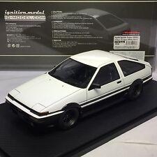 1/18 HPI IG ignition #IG0536 Toyota Sprinter Trueno 3Dr GT Apex (AE86) White