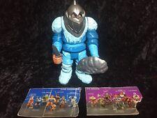 Vintage 1985 Thundercats Original SNOWMAN OF HOOK MOUNTAIN + CARDS!!!  **READ**