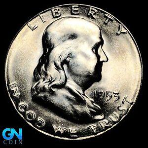 1953 S Franklin Half Dollar  --  MAKE US AN OFFER!  #K8572