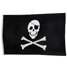 Pirate Skull and Cross Bone Flag Ship Boat Beach Play House 150 x 90cm FL-C35SK