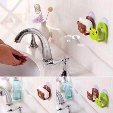 1pc Soap HolderSponge Suction Drying Holder Bathroom Holder Kitchen Holder Rack