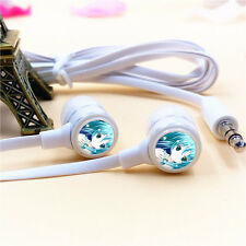 Anime Hatsune Miku Stereo Headphones Music Earphones In-Ear Earbuds Headset Gift