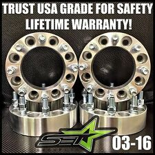 8X170 WHEEL SPACERS 2 INCH 50MM 2003-18' 8 LUG ADAPTERS FORD SUPERDUTY EXCURSION