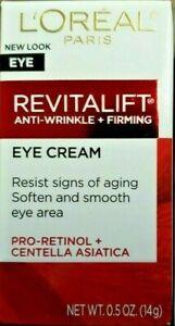 Loreal RevitaLift Anti-Wrinkle + Firming Eye Cream 0.5 oz