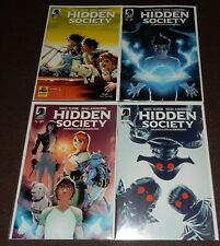 HIDDEN SOCIETY 4-issue set by Rafael Scavone and Rafael Albuquerque