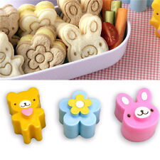 Sandwich Crust Cutter Cookie Bread Mold Bento Maker Rabbit Panda Flower