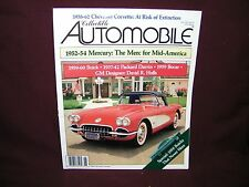 B1C Collectible Automobile June 1992 Corvette Buick FREE SHIPPING in USA!