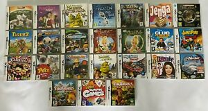 Ds Games Bundle, Job lot - 24 Game Lot - Nintendo DS Game Bundle Kids Games