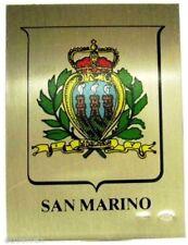 SAN MARINO (Serie:Citta' Italiane) Argento-Smalti