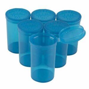 Juvale Empty Prescription Pill Vial Container 30 Dram Bottles (20 Count)