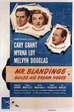 Film Mr Blandings Builds His Dream House 01 A3 Box Canvas Print
