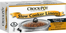 Crock-Pot® - Slow Cooker Liners (4-pack) - Clear