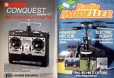 RADIO MODELLER MAGAZINE 1988 JAN JOHN GOODYEAR'S KALEIDOSCOPE FREE PLANS