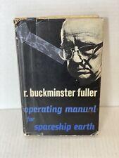 Operating Manual for Spaceship Earth Buckminster Fuller 1st Edition 1969 HC DJ