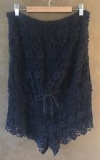 f9b5ff6bba75 Sky Clothing Brand L  196 Romper Jumpsuit Black Crochet Lace Shorts  Strapless