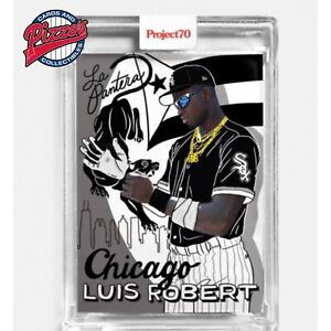 Topps Project 70 Card 127 - 2010 Luis Robert by Sophia Chang Pre-Sale