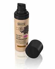 Lavera Natural Liquid Foundation 6 Shades Available 30ml 06 Almond Caramel