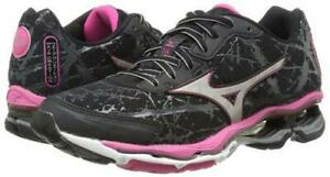 New Mizuno Wave Creation 16 Running Shoes Women's Size 8 Black/Pink 410653-9073