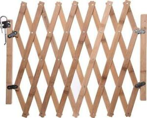 Dog Gate, Wooden Pet Gate - Tall Pet Safety Fence For The House Doorway Stairs.