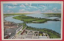 VTG POSTCARD-LOOKING SOUTHEAST FROM WASHINGTON MONUMENT-WASHINGTON D.C.