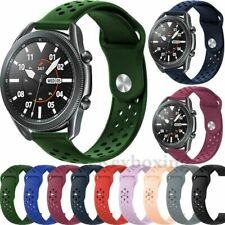 For Samsung Galaxy Watch 3 45mm 41mm Gear S3 Silicone Sport Band Strap Bracelet