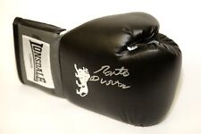 *New* Roberto Duran Hand Signed Black Boxing Glove