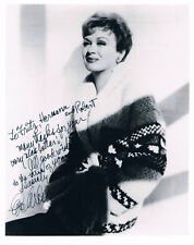 "Eve Arden 1908-90 genuine autograph signed 8""x10"" photo US actress"