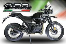 ROYAL ENFIELD HIMALAYAN 2017/18 EXHAUST FURORE NERO BY GPR EXHAUSTS ITALY