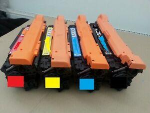 Compatible 654X 654A Toner Cartridges CF330X CF331A CF333A CF332A for HP M651