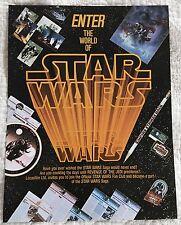 Star Wars 1982 Official Fan Club Membership Application Form Flyer Revenge
