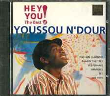 YOUSSOU N'DOUR HEY YOU THE BEST CD
