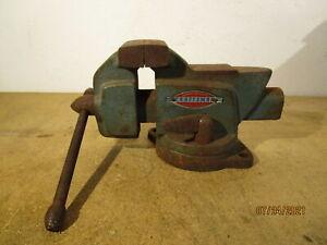 """Vintage Craftsman 3-1/2"""" Bench Vise Model 5176"""
