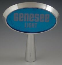 GENESEE LIGHT BEER TAP HANDLE VINTAGE ADVERTISEMENT