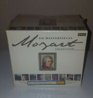 Mozart Collection: 100 Masterpieces (Box Set) CD, Jul-2000, 10 Discs, Laserlight