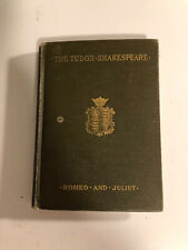 Vintage Romeo And Juliet, 1924 The Tudor Shakespeare edition HC olive green
