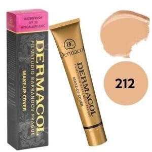 Dermacol High Cover Makeup Foundation Waterproof Hypoallergenic SPF-30 #212