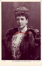 RPPC H.M. ALEXANDRA, THE QUEEN MOTHER Beagles Postcards LaFayette