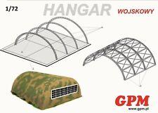 Military Hangar   1:144 scale  Model Kit   (LASERCUT SET)    Prepainted    NEW