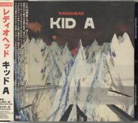 Radiohead ‎Kid A JAPAN CD with OBI TOCP65777