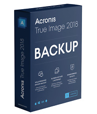 Acronis True Image 2018 Backup 1Gerät - PC/ MAC/ iOS/ Android ESD Multilingual