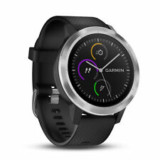 Garmin Vivoactive 3 GPS Smartwatch HRM Heart Rate Monitor Stainless Bezel Black