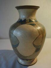 C25 Magnifique vase art nouveau en ?cuivre, étain?