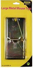 Trampa de Ratón/Rata De Metal 115 X 60 mm Reutilizable Rápido Primavera Roedor Control trampa fácil