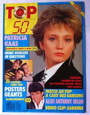 TOP 50 n°103; Patricia Kaas/ Anthony Delon/ Demis Roussos/ L. Bouneau/ A Caus'de