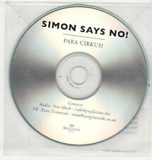 (ET651) Simon Says No!, Para Cirkus! - DJ CD